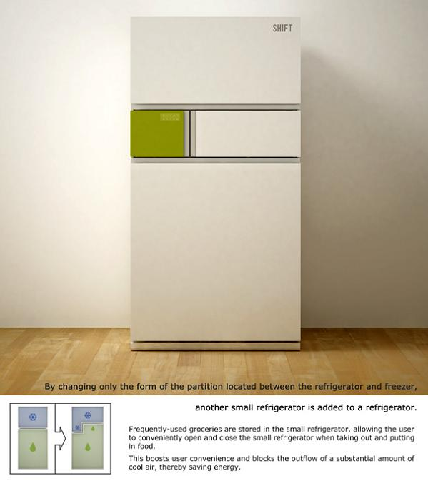 shift refrigerator