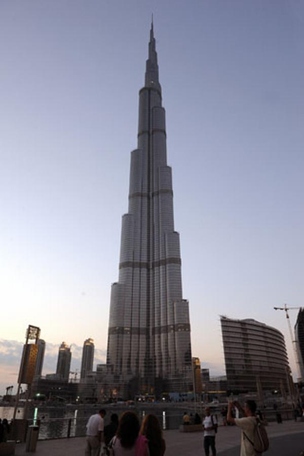 dubai tower. Burj Dubai tower looks.
