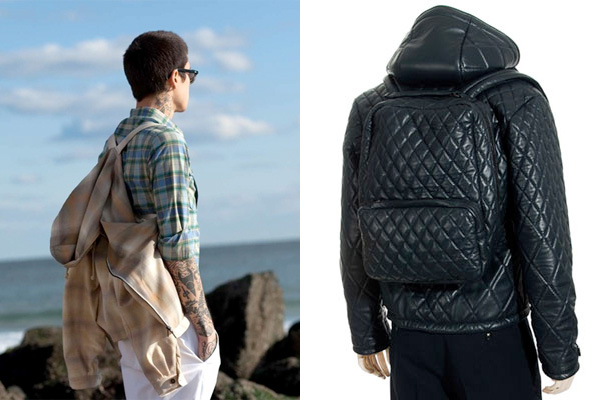 H by Harris Jacket Backpack