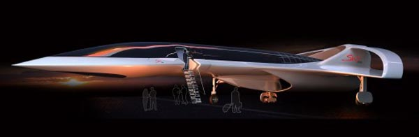 High Altitude Supersonic Business Jet
