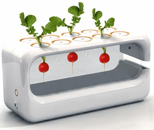 Aeroponic Garden by Jim Ruck Popularizes Avant garde Gardening