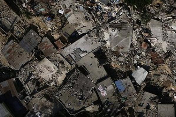 Haiti Earthquake, homes in ruin