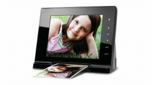 photo frame/scanner