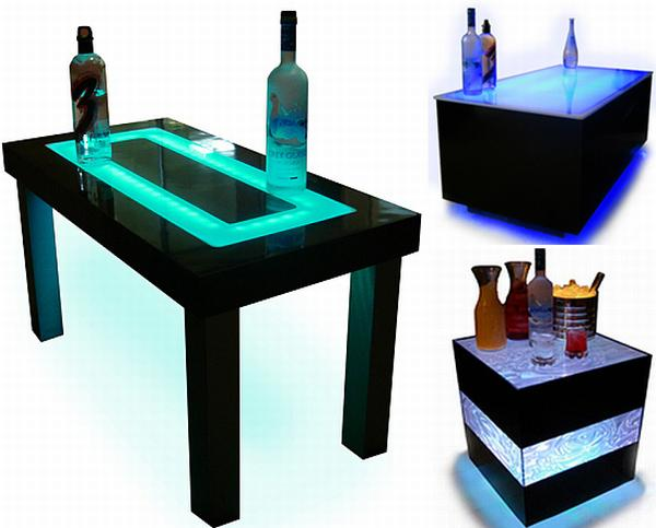 led furniture 1 Customized Designs Offers Great LED Furniture