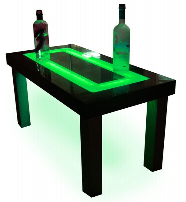 led furniture 3 Customized Designs Offers Great LED Furniture