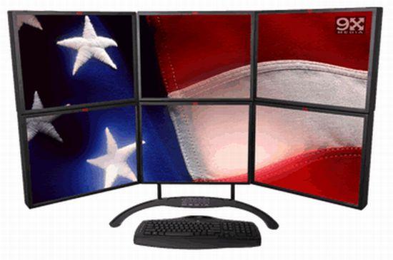 9X Media Multi-Screen Display