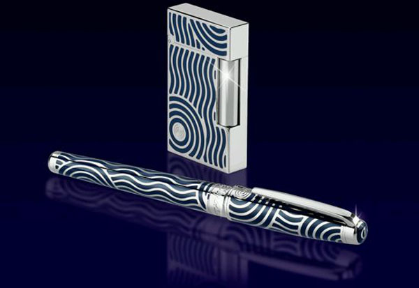 S T Dupont Launches Neptune God Inspired Limited Edition Set