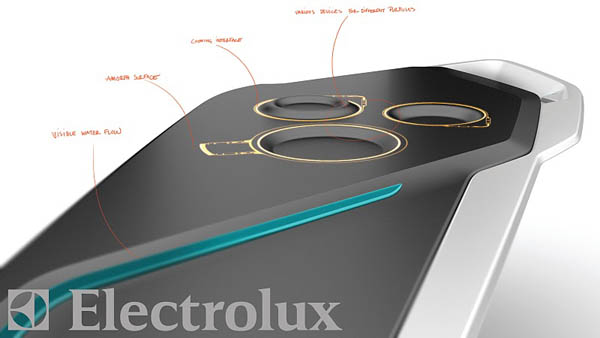 New kitchen concept by electrolux can change kitchen use for Kitchen set electrolux