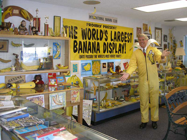 Ken Bananister at Banana Museum