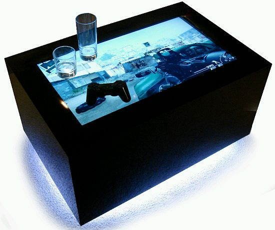 Customised Designs LED Table