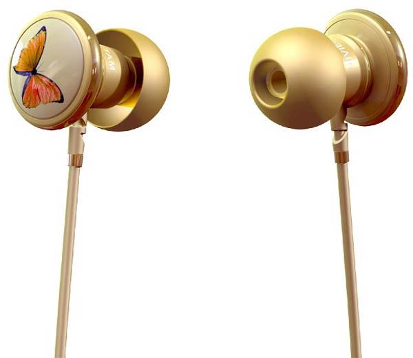 Vivienne's Butterfly Headphones