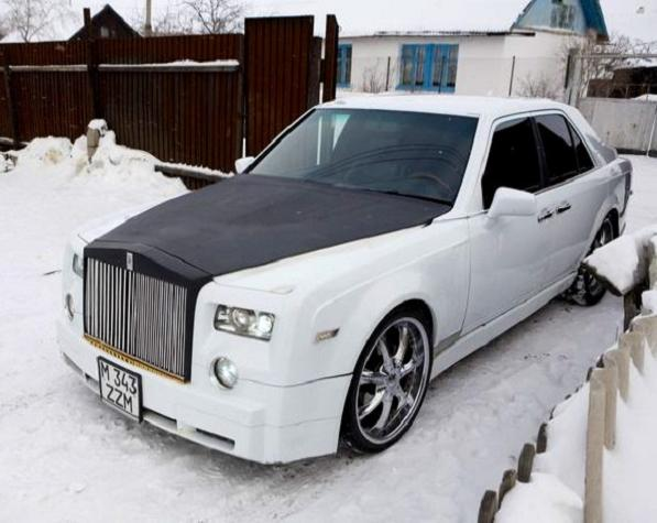 fakerolls Ruslan Mukanov Makes His Own Real But Fake Rolls Royce