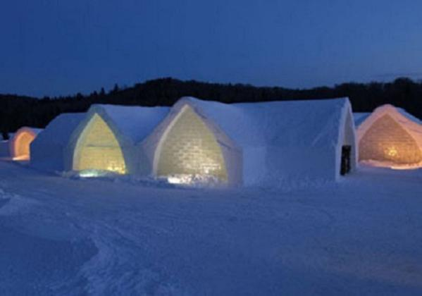 H Tel De Glace Calls All Snow Ice Lovers To Cosy Up This
