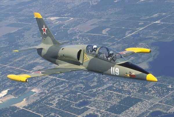 Aero L-39 trainer jet