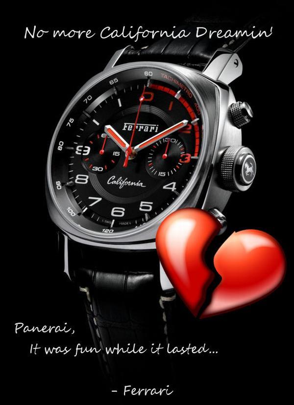 ferrari timepiece