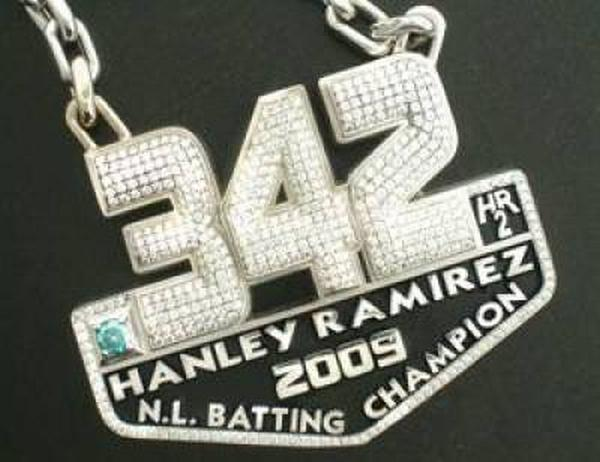 hanley-ramirez-pendant Florida Marlins Given Diamond Studded Pendant by Loria!