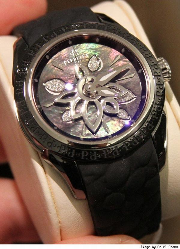 perrelet diamond flower ceramic Baselworld 2010: Perrelet Diamond Flower Comes Revamped