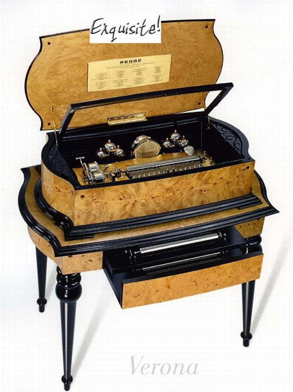 reuge verona orchestral music box