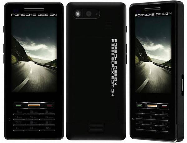 singapore porsche black cell phone