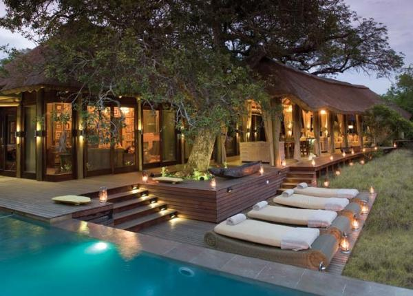 south african wilderness homestead poolside