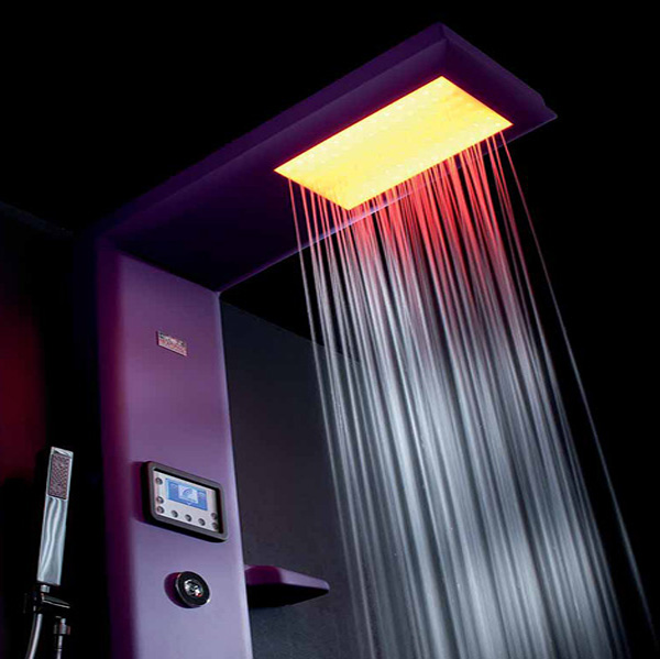 Etoile-Thermostatic shower column by Hafro