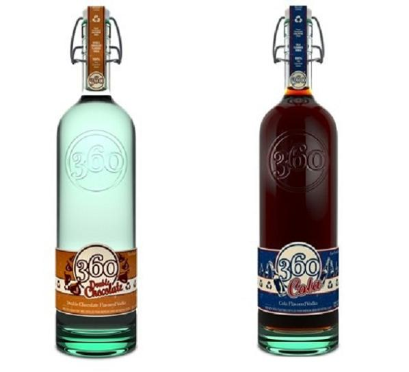 360flavors Eco Friendly 360 Vodka Goes The Cola & Chocolate Way!