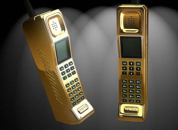Gold Privé Phone