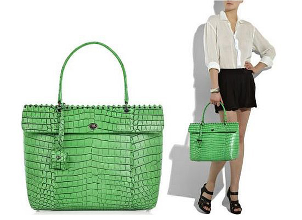Bottega Veneta Cocolave crocodile tote bag
