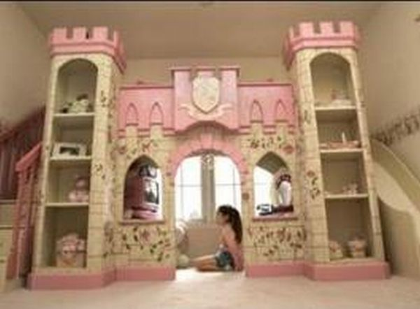 Sweet dream theme beds let your kid s fantasy world come for Kids dream room