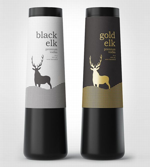 black and gold elk