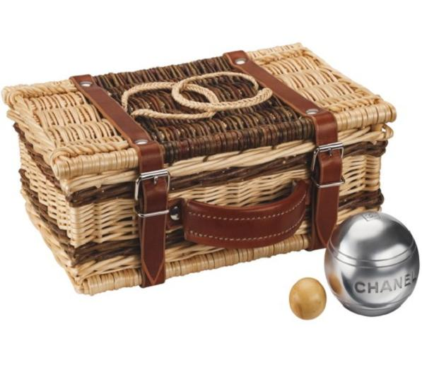 chanelbocce The Chanel Bocce Ball Set Can Be A Picnic Basket, Sexy Handbag & Much More
