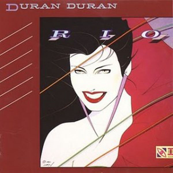 duran duran 'rio' cover by Patrick Nagel