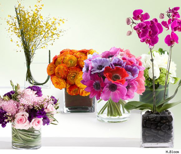HBloom flower arrangements