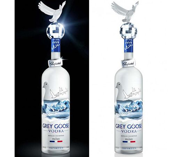 Grey Goose Vodka bottle by Chopard