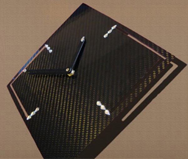 horloge carbone design
