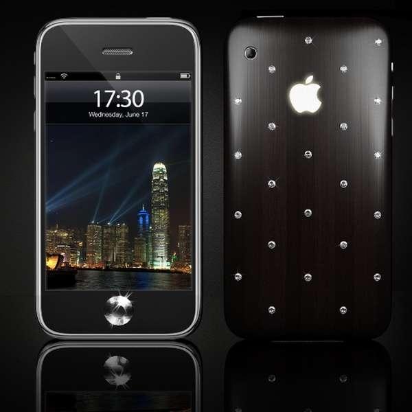 iPhone 3G S Moon Protuberance