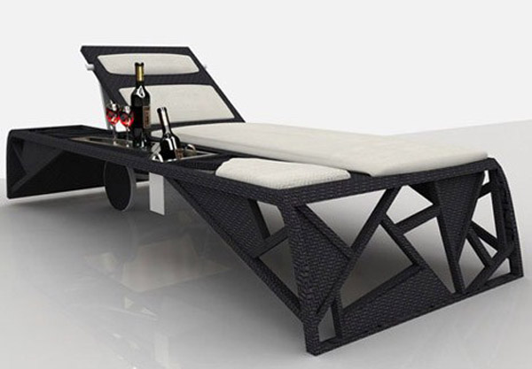 Luxury sun lounger by Atmosphera