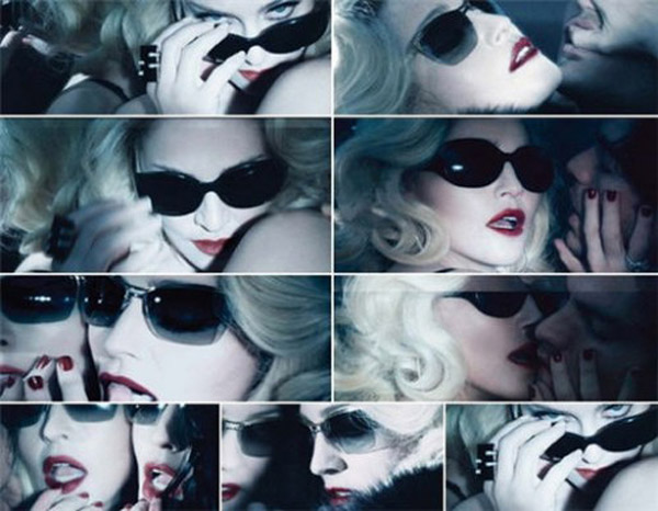madonna's new eyewear collection