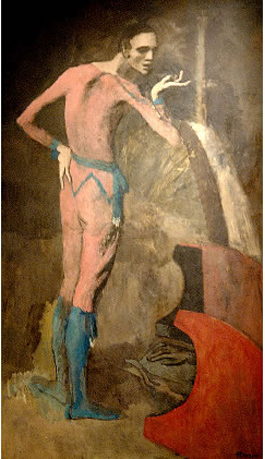 "picasso's  ""the actor"""