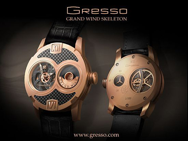 The new watch by Gresso