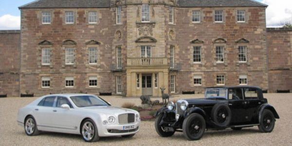 Bentley Mulsanne and Bentley 1930 model