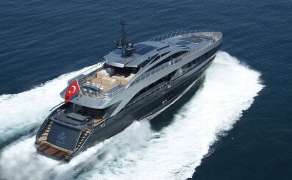 Turkish superyacht Noor
