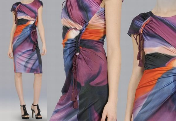 Alberta Ferretti jersey dress