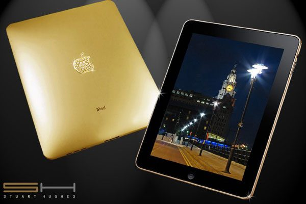 gold and diamond ipad