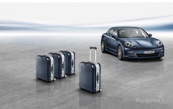 porsche's luggage collection