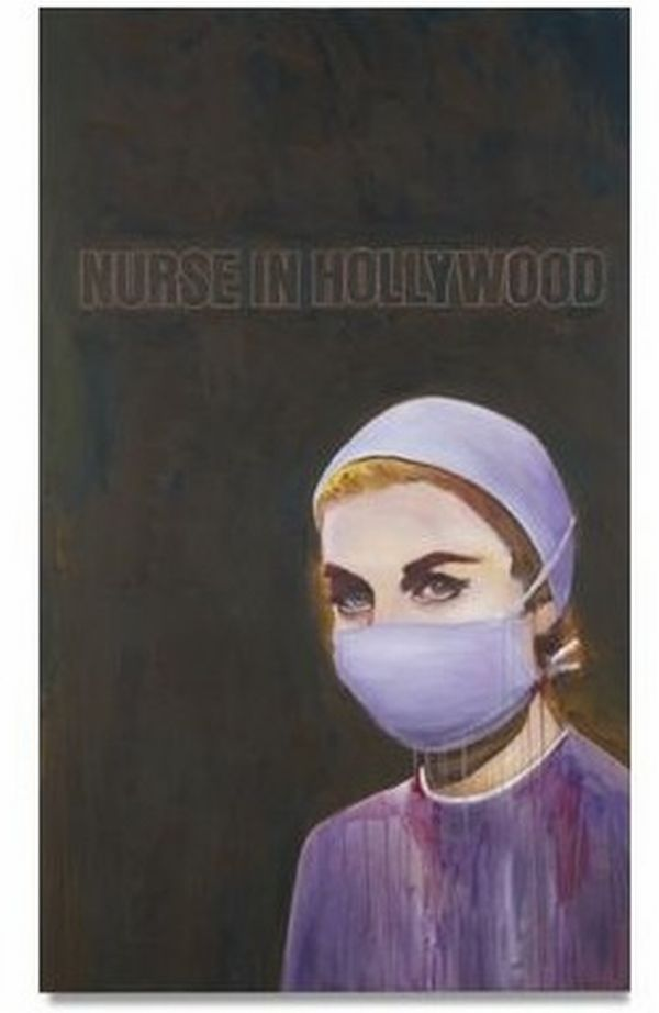 nurse in hollywood by richard prince