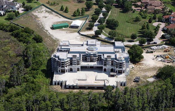 Biggest house unfinished in the us up for sale at 75 for Biggest houses in america for sale