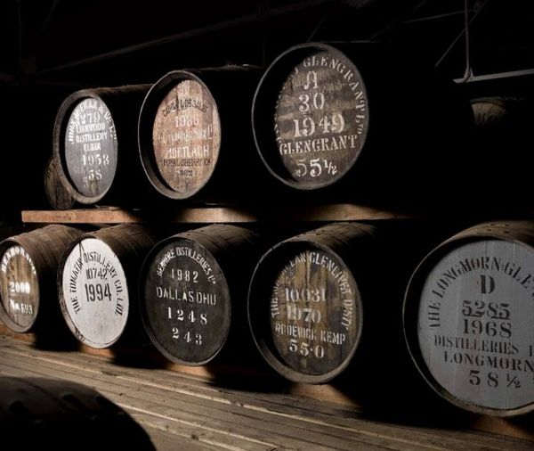 whisky barrels single malt scotch