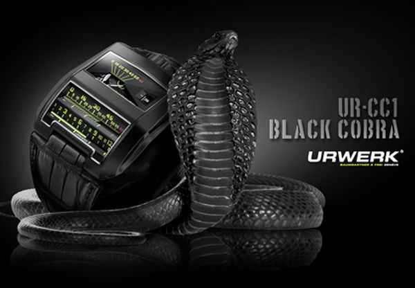 urwerk black cobra watch