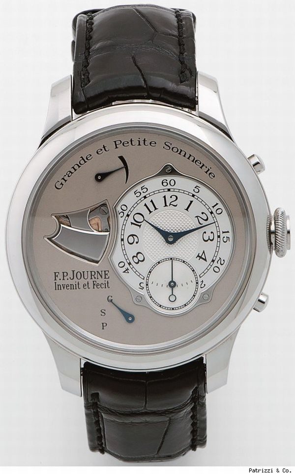 fp journe patrizzi F.P. Journe timepiece fetches $400,000 in an auction
